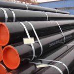 GR B, X42, X46, X56, X60, X65, X70 ERW HFI EFW çelik boru