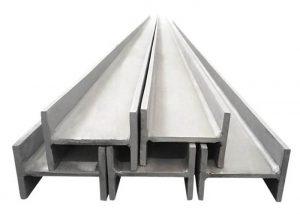 201304316 paslanmaz çelik H kiriş