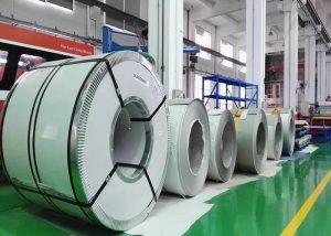 321 Paslanmaz Çelik Rulo 1.4541 / X6CrNiTi18-10