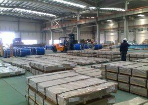 X10CrAlSi13 / 1.4724 çelik sac / levha